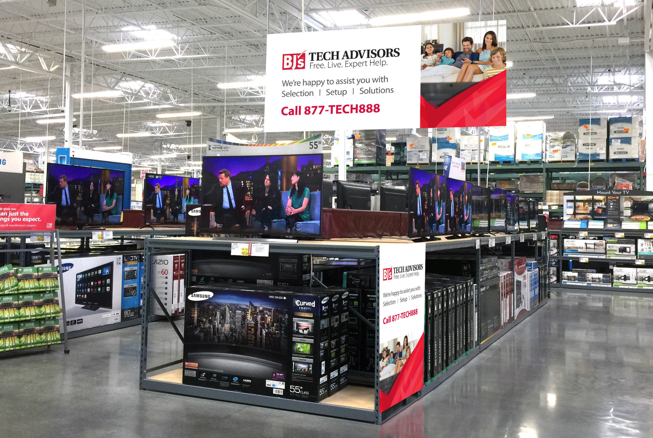 BJ's Wholesale Club Members Get Free Technical Help with New Tech Advisors Service