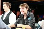 Jake Balsiger, 888poker Ambassador at Final table of the 2014 Aussie Millions Main Event.