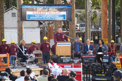 Harbor Freight Tools Donates to LA Unified School District