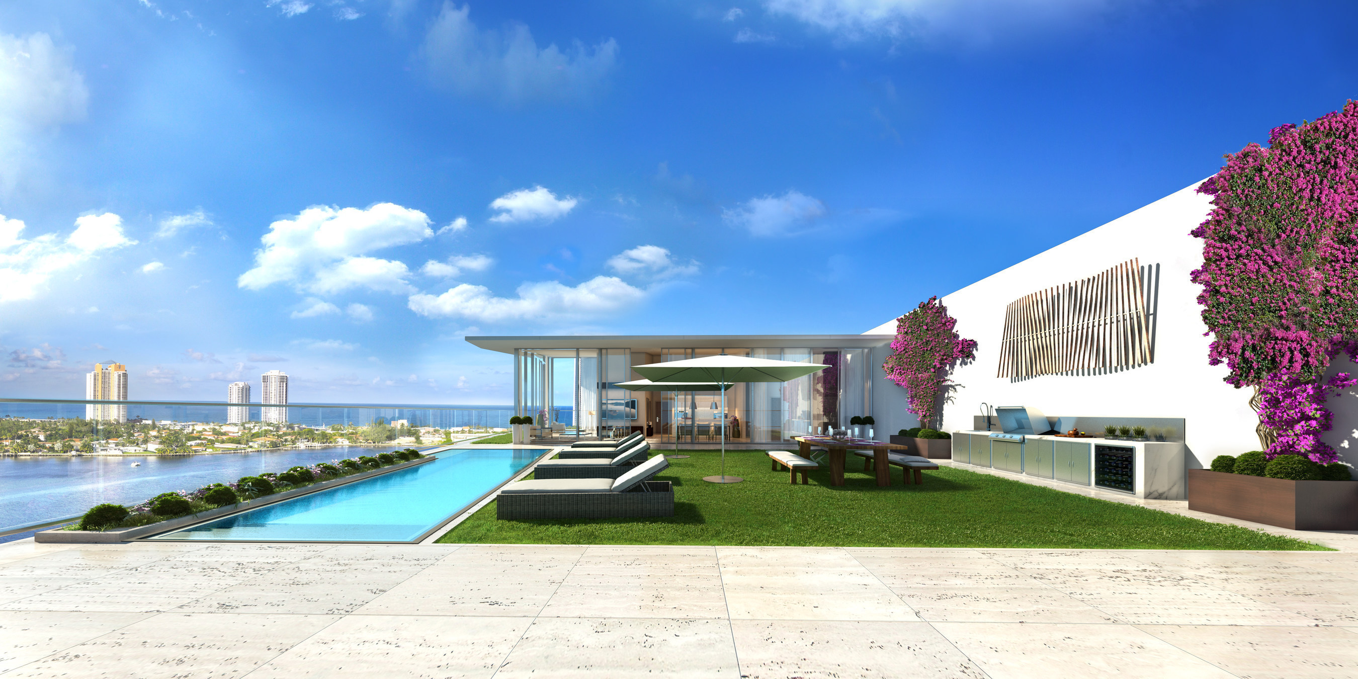 Residential Real Estate Development : Prive at island estates named the residential real