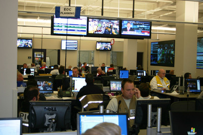 Using IBM's unified communications software integrated with radio-over-IP software from UnifiedEdge, employees in the new emergency response center in Fort Worth can more quickly respond to calls for help.  (PRNewsFoto/IBM)