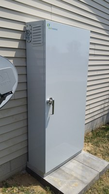 Sunverge intelligent energy storage system installed at Glasgow, KY home