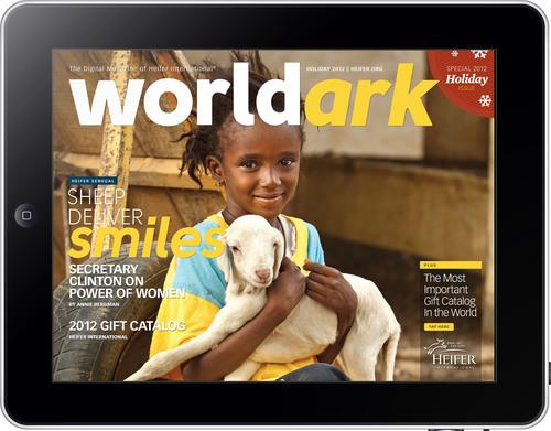 World Ark Tablet Cover.  (PRNewsFoto/Heifer International)