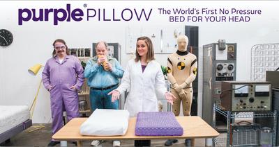 Purple(R) Pillow Breaks Kickstarter Records