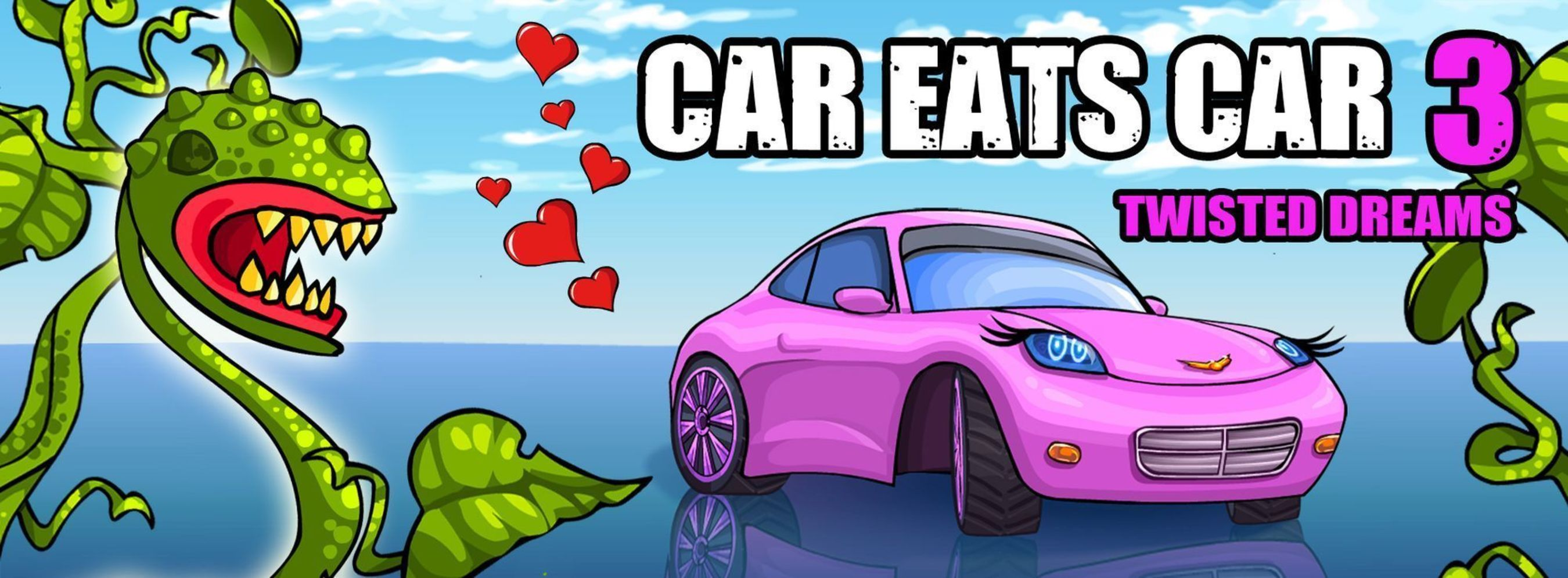 Car Eats Car 3 - online game for PC (PRNewsFoto/MyRealGames_com)