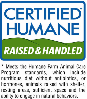 Certified Humane Raised and Handled label