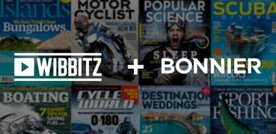 Wibbitz partners with Bonnier to power automatic video creation.