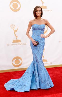 Giuliana Rancic in Forevermark Diamonds at the 2013 Emmy Awards.  (PRNewsFoto/Forevermark)