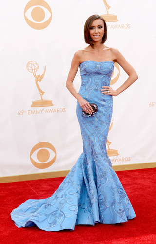 Giuliana Rancic in Forevermark Diamonds at the 2013 Emmy Awards.  (PRNewsFoto/Forevermark)