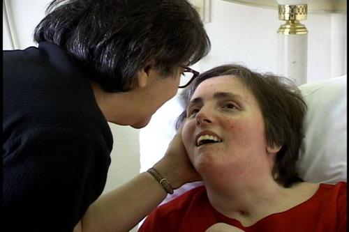 Terri Schiavo and her mother.  (PRNewsFoto/Terri Schiavo Life & Hope Network)