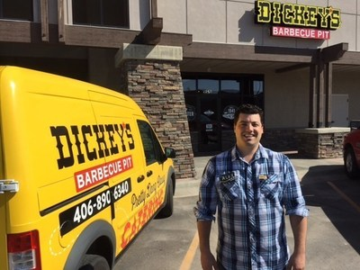 Owner/Operator Alex Weinstein stands outside of his Dickey's store in Kalispell.