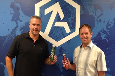 Founded in 2012 by two Minnesota hockey dads, John Montague (right) and Jesse Parker (left), that were concerned about the prevalence of sugary, caloric drinks being consumed in the name of sports, ASPIRE Beverage Company makes innovative sports drinks with less sugar and calories that are designed to improve the health and performance of athletes.