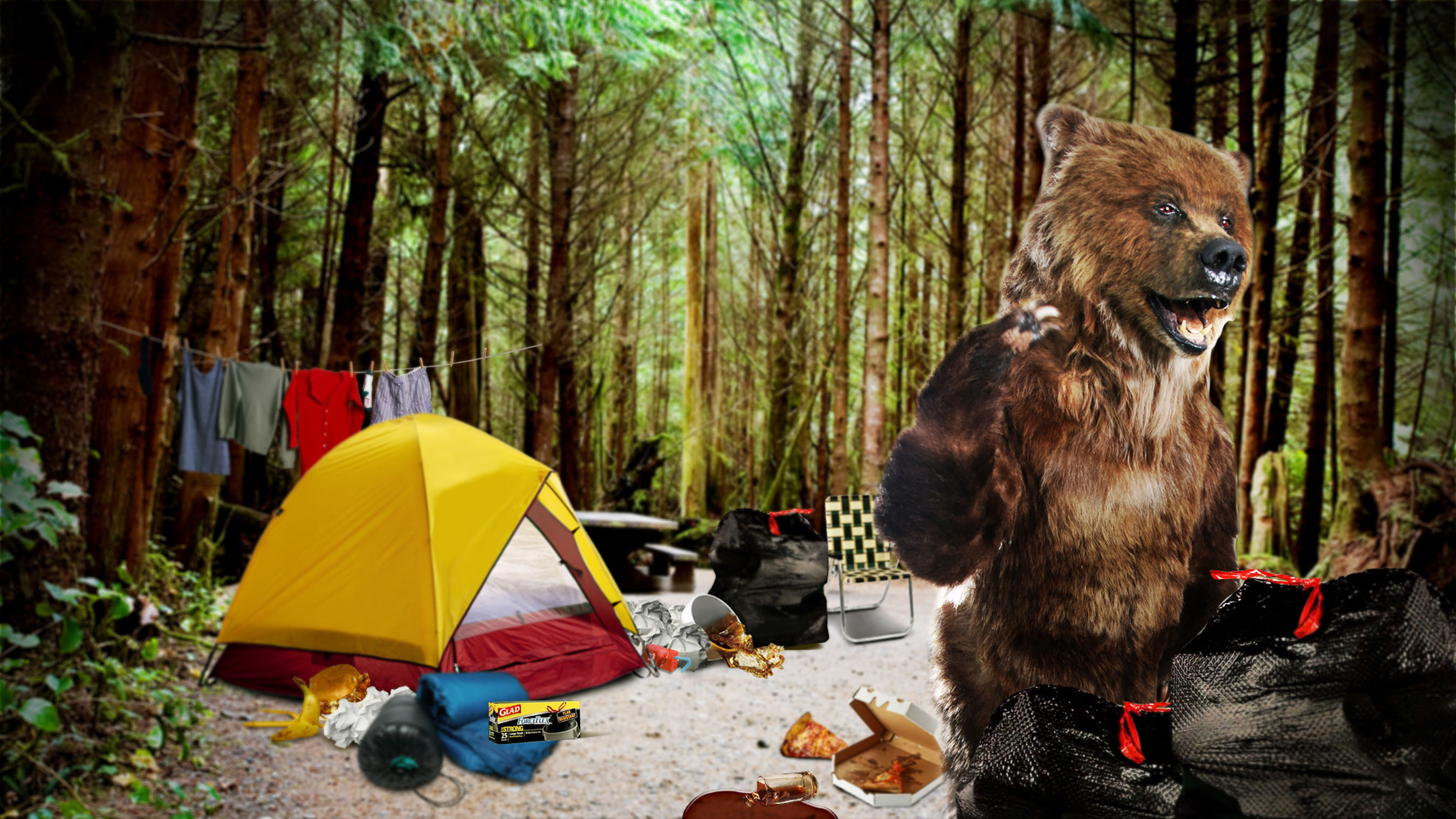 The Wild Life.  (PRNewsFoto/The GLAD Products Company)