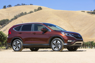 "2015 Honda CR-V Wins Cars.com/USA Today/""MotorWeek"" Compact SUV Challenge"