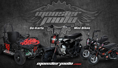 About Monster Moto - Monster Moto is a maker of high quality, affordable mini bikes and go-karts. By 2017, all of Monster Moto's products will be completely assembled in the United States at the company's 100,000square foot production facility in Ruston, La. Founded in 2013, Monster Moto focuses on ensuring all of its mini bikes and go-karts are made with high quality parts and detailed attention to construction to help get kids outside to focus on the important things: enjoying the outdoors, exploring off-road, and making lasting memories with family and friends. Monster Moto stands behind its products with a 90 day warranty, and the company's customer service center is open seven days a week. Monster Moto also has a 100% spare parts inventory as well as 600 service centers throughout the country. To learn more about Monster Moto, visit www.monstermoto.com or contact media@monstermoto.com.