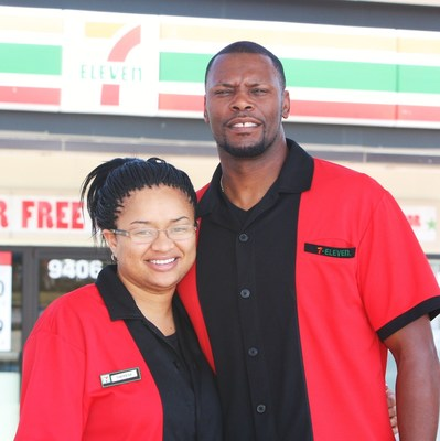 Ret. U.S. Army 1st Sgt. Charles Williams, a 7-Eleven franchisee in Copperas Cove, Texas, is among veterans who have taken advantage of 7-Eleven's franchise-fee discount for qualified military vets. His wife Theresa, a former Army transportation sergeant, will join him in franchising a second 7-Eleven store this September in Killeen.