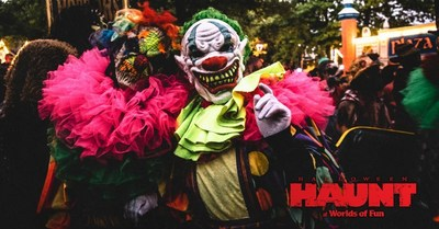 Haunt at Worlds of Fun, where FUN and FEAR collide!