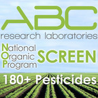 ABC Research Laboratories Adds new Pesticide Screen Service