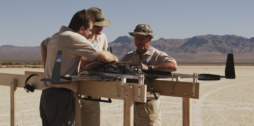 Ricardo's New Heavy-fuel Wolverine3 Engine Takes Flight at Nevada Test Site