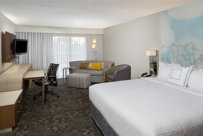 King Room at the newly renovated Courtyard San Antonio Airport North Star.