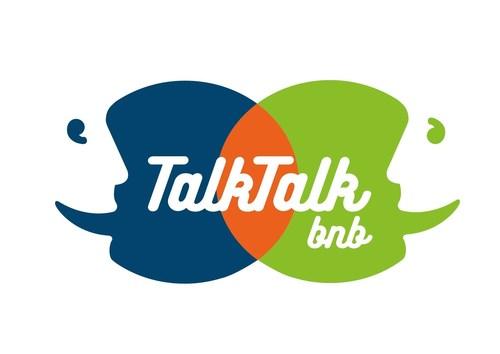 TalkTalkBnb Logo (PRNewsFoto/PERDEREAU LEXICA) (PRNewsFoto/PERDEREAU LEXICA)