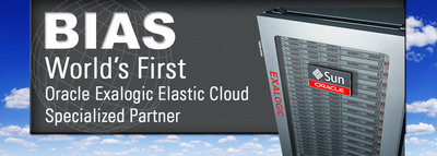 BIAS Achieves Oracle PartnerNetwork Specialization for Oracle Exalogic Elastic Cloud