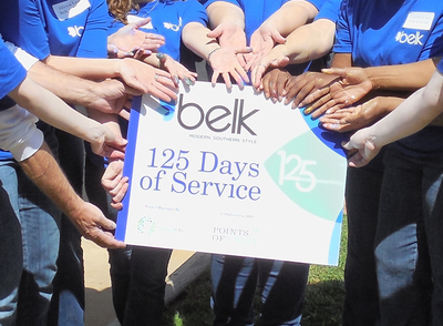 125 Days of Service (PRNewsFoto/Belk, Inc.)