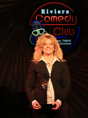 Maria Walsh, winner of Riviera Casino & Hotel Next Comic Headliner Search in Las Vegas.  (PRNewsFoto/Riviera Casino & Hotel)