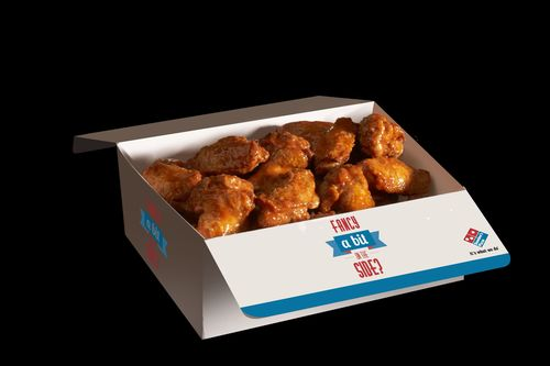 FRANK'S® RedHot® Dips in to Domino's