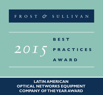 Ciena Receives 2015 Latin American Optical Networks Equipment Company of the Year Award