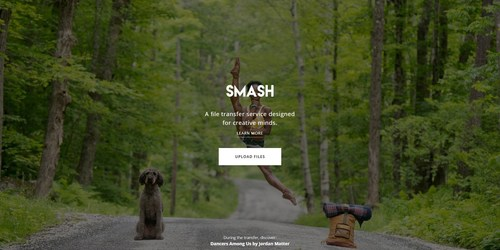 Jordan Matter's exhibition on Smash - Homepage (PRNewsFoto/Smash)