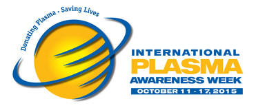 Celebrate International Plasma Awareness Week (IPAW) October 11-17! To find out more about plasma donation and find a center near you, visit www.donatingplasma.org.