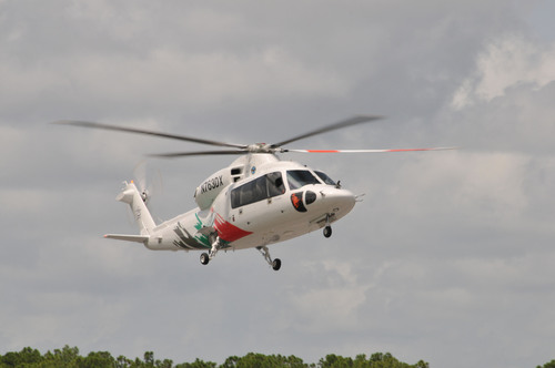 Sikorsky has added a third prototype to its S-76D(TM) helicopter flight test program.  (PRNewsFoto/Sikorsky ...
