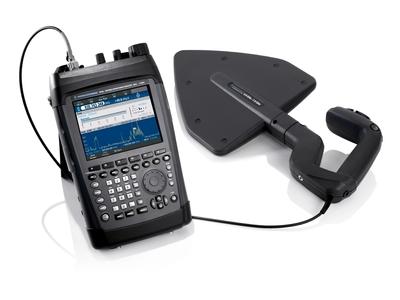 R&S PR100 portable receiver (PRNewsFoto/Rohde & Schwarz)