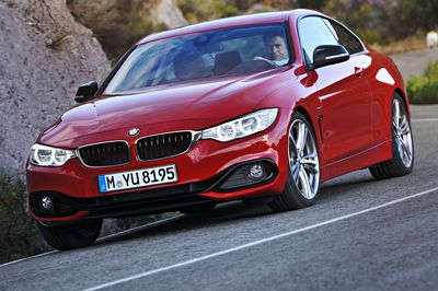 The BMW 4 Series: over 10,000 vehicles delivered to customers in October 2014.