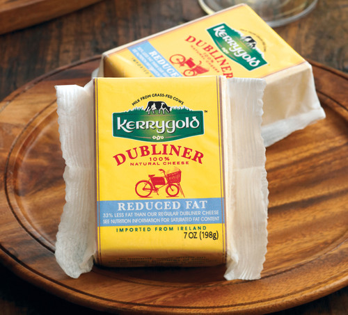 Kerrygold Reduced Fat Dubliner was named Best Reduced Fat Cheddar in Cooking Light magazine's third annual ...