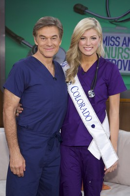 Miss Colorado, Kelley Johnson, Joins Dr. Oz on the show today to discuss her love of nursing.