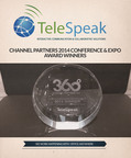 "TeleSpeak 2014 Channel Partners ""Business Value"" Award Winner. (PRNewsFoto/TeleSpeak)"