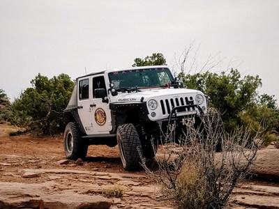 The Warrior Jeep - a custom built 2015 Jeep Wrangler Rubicon Hard Rock Edition.