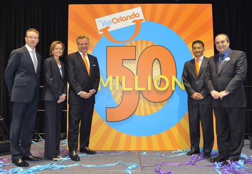 Orlando Draws Record Breaking 51.455 Million Visitors in 2010