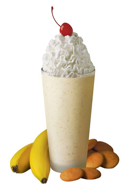 Starting Monday, Feb. 28, customers can satiate their cravings for the Southern classic with the new Banana Pudding Milkshake available in Chick-fil-A(R) restaurants nationwide through June 4.  (PRNewsFoto/Chick-fil-A, Inc.)
