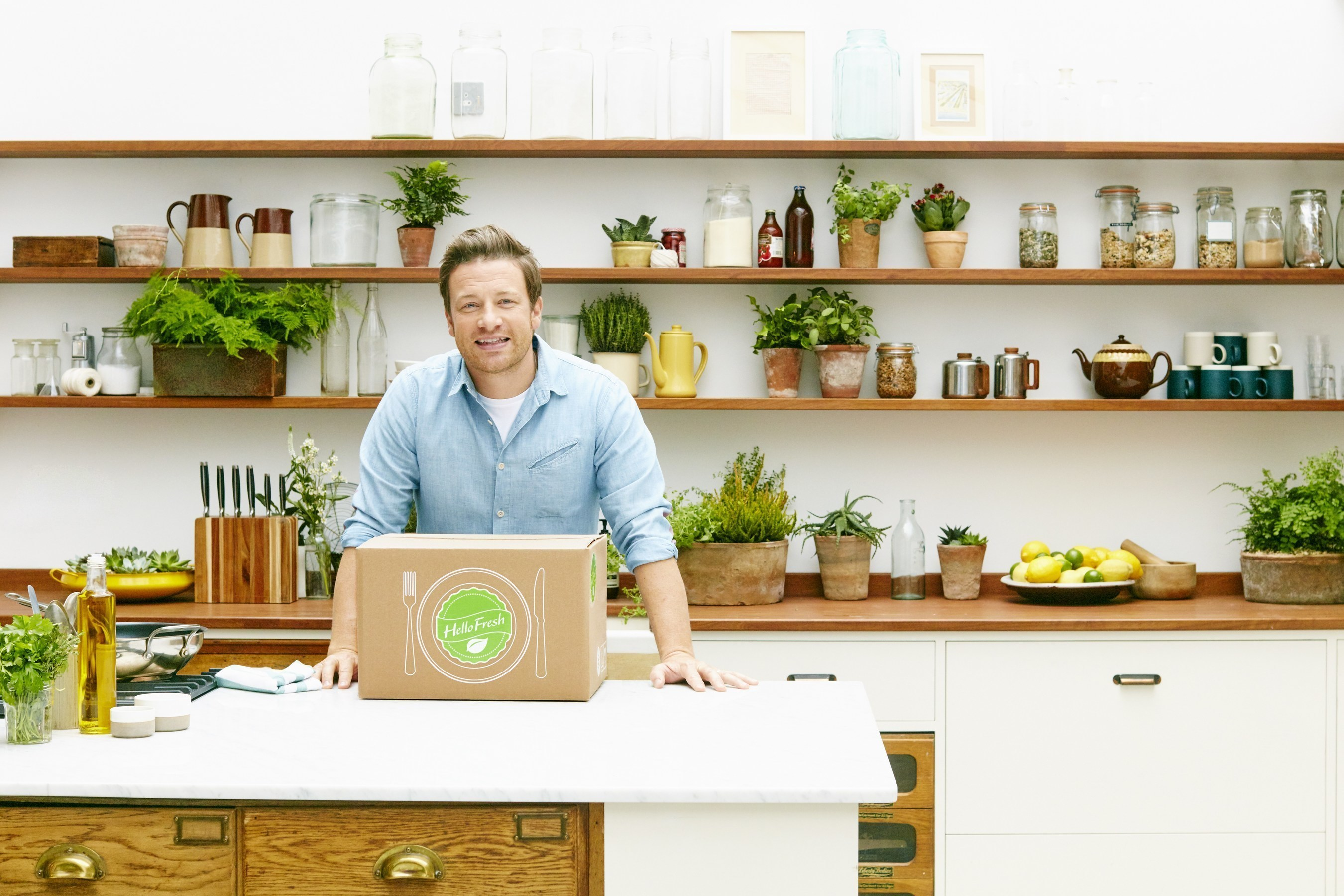 HelloFresh and Jamie Oliver Limited Partner to Make Home Cooking Simple and Even More Delicious