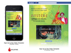 Example of new Facebook mobile experience in action at Cirque du Soleil - Cirque du Soleil is leveraging Wildfire's new responsive design templates to design and run campaigns that will provide a seamless experience for consumers who engage with their brands on any device.  (PRNewsFoto/Wildfire Interactive)