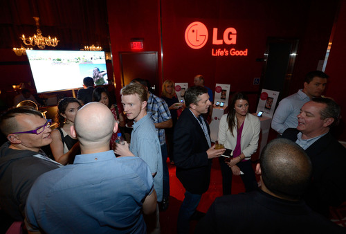 CTIA guests mingle at the Recharge, Refresh & Remix with LG Event at PURE Nightclub on Wednesday, May 22, 2013 ...