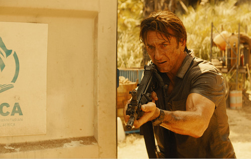 SEAN PENN as the international operative Jim Terrier in Director PIERRE MOREL's forthcoming international action thriller THE GUNMAN. (PRNewsFoto/Silver Pictures, 2013 Gunman LTD)
