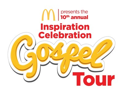 McDonald's Inspiration Celebration Gospel Tour is back and better than ever for the tenth anniversary with gospel music's best artists.
