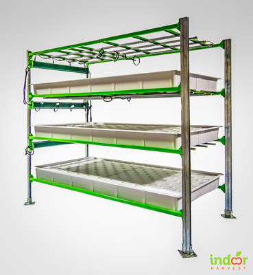 Indoor Harvest, Corp. Vertical Farming Platform