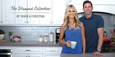 "TAREK & CHRISTINA EL MOUSSA, STARS OF HGTV'S ""FLIP OR FLOP"" LAUNCH NEW METALLIC QUARTZ PRODUCT LINE: THE DIAMOND COLLECTION(TM) BY TAREK & CHRISTINA"