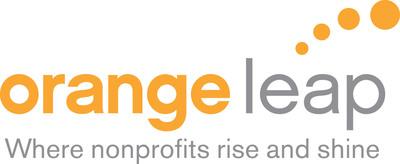 Orange Leap logo.  (PRNewsFoto/Orange Leap)