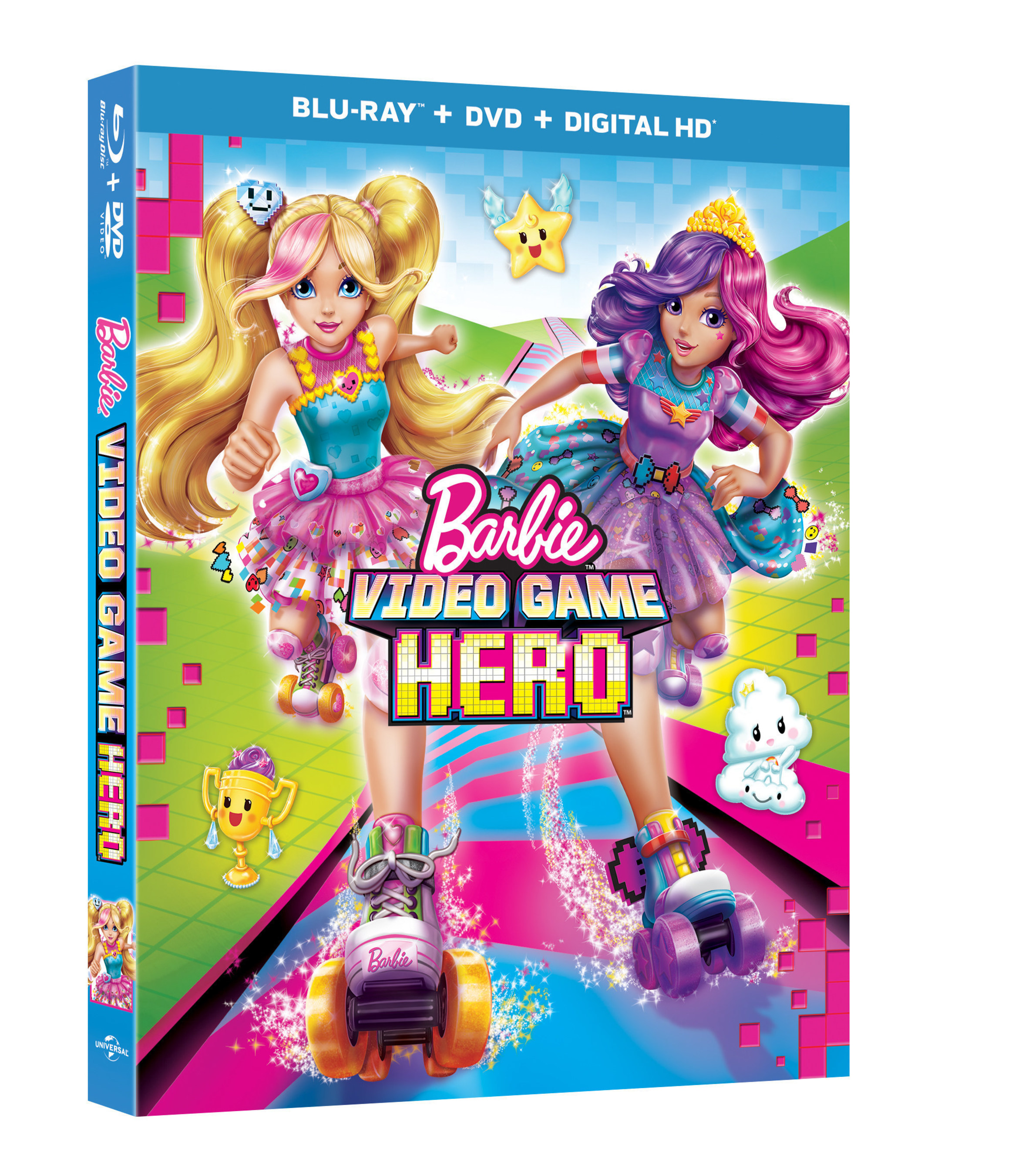 From Universal Pictures Home Entertainment: Barbie Video Game Hero